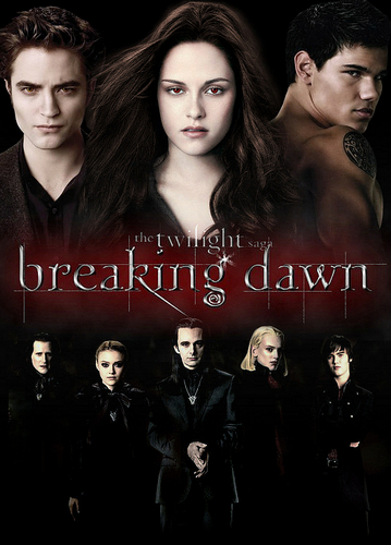 Breaking Dawn The Movie wallpaper titled Breaking Dawn Movie Poster