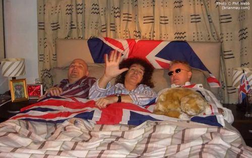 Brian May,Roger Taylor