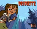 Bridgette as Courtney  - total-drama-island fan art
