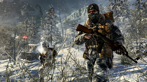 Call of Duty Black Ops achtergrond