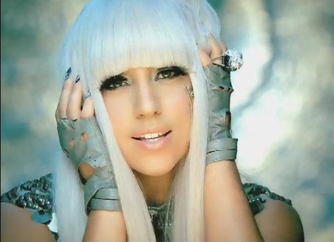 lady gaga poker face pictures