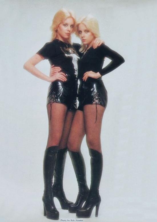 Cherie & Marie Currie