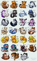 Chibi Animals - the-random-creatures-of-anime photo