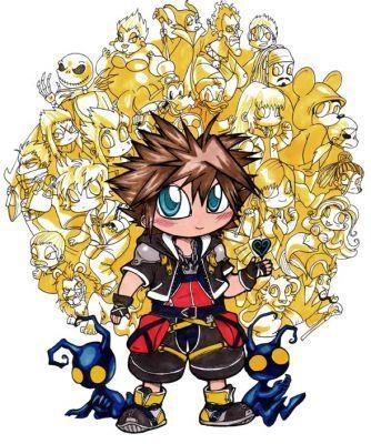 ちび Kingdom Hearts