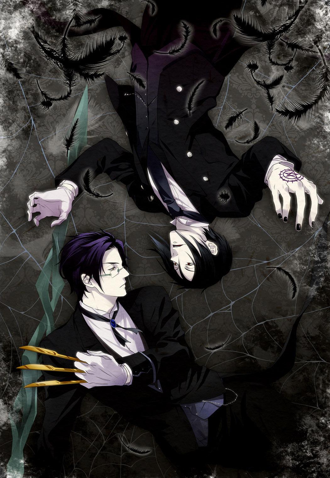 Claude vs. Sebastian - kuroshitsuji photo