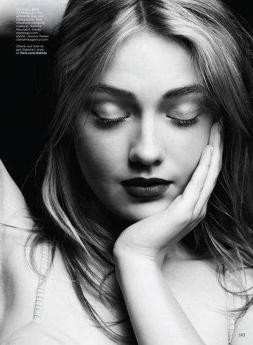 Dakota Fanning - Flare Magazine 2010 August