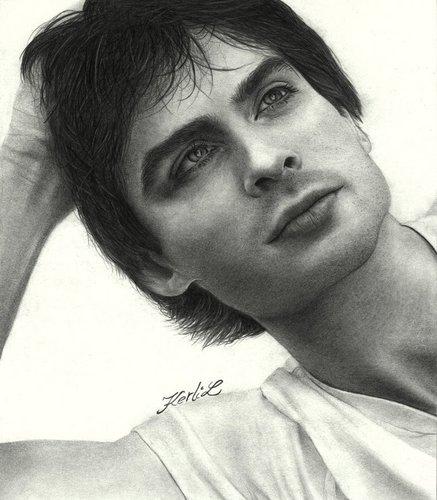 Damon Salvatore wallpaper entitled Damon ♥