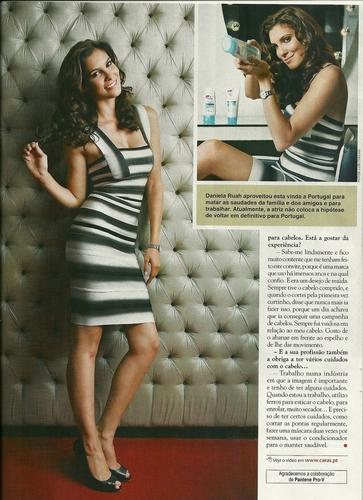 Daniela @ Caras Magazine