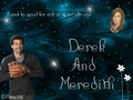 Derek and Meredith  - meredith-and-derek wallpaper