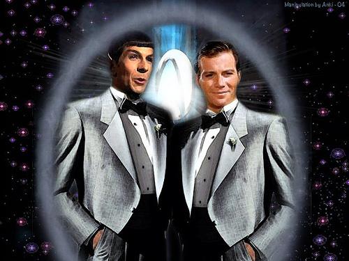 Do anda invite captain Kirk to your Wedding?