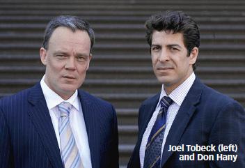 Don Hany with Joel Tobeck