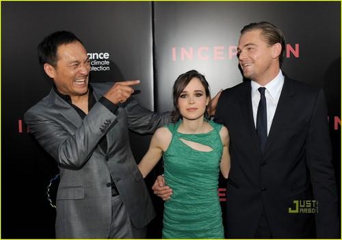 Ellen Page & Leo DiCaprio: Inception L.A. Premiere!