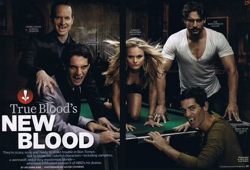 True Blood wallpaper called Entertainment Weekly