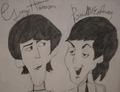 George and Paul - george-harrison fan art