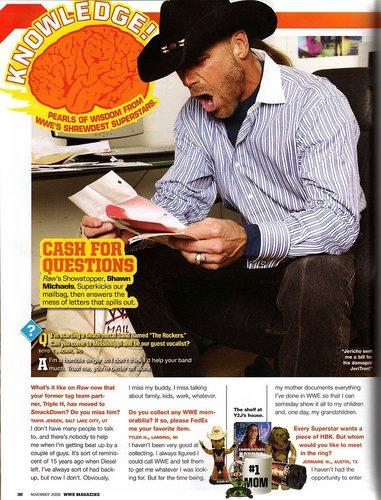 WWE Magazine artikulo