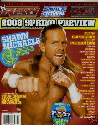 WWE Spring Vorschau Magazine Cover