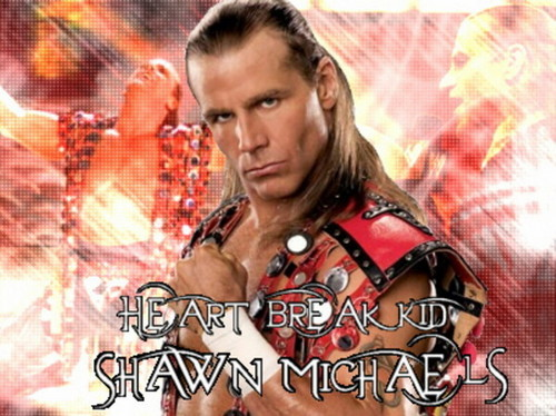 Shawn Michaels Hintergrund called HeartBreak Kid