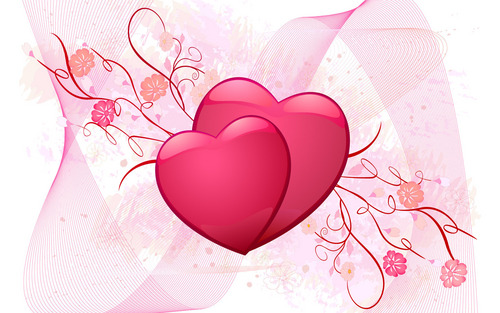 Love wallpaper titled Hearts