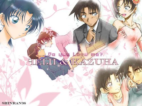 Heiji Любовь Kazuha