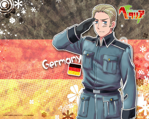 hetalia - axis powers Axis Power: APH Germany