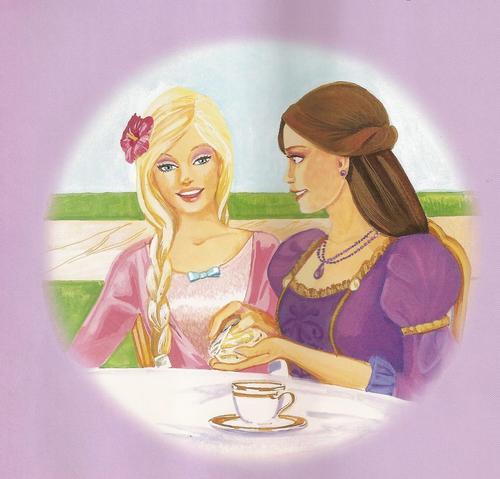 Barbie as the island princess wallpaper entitled Island Princess