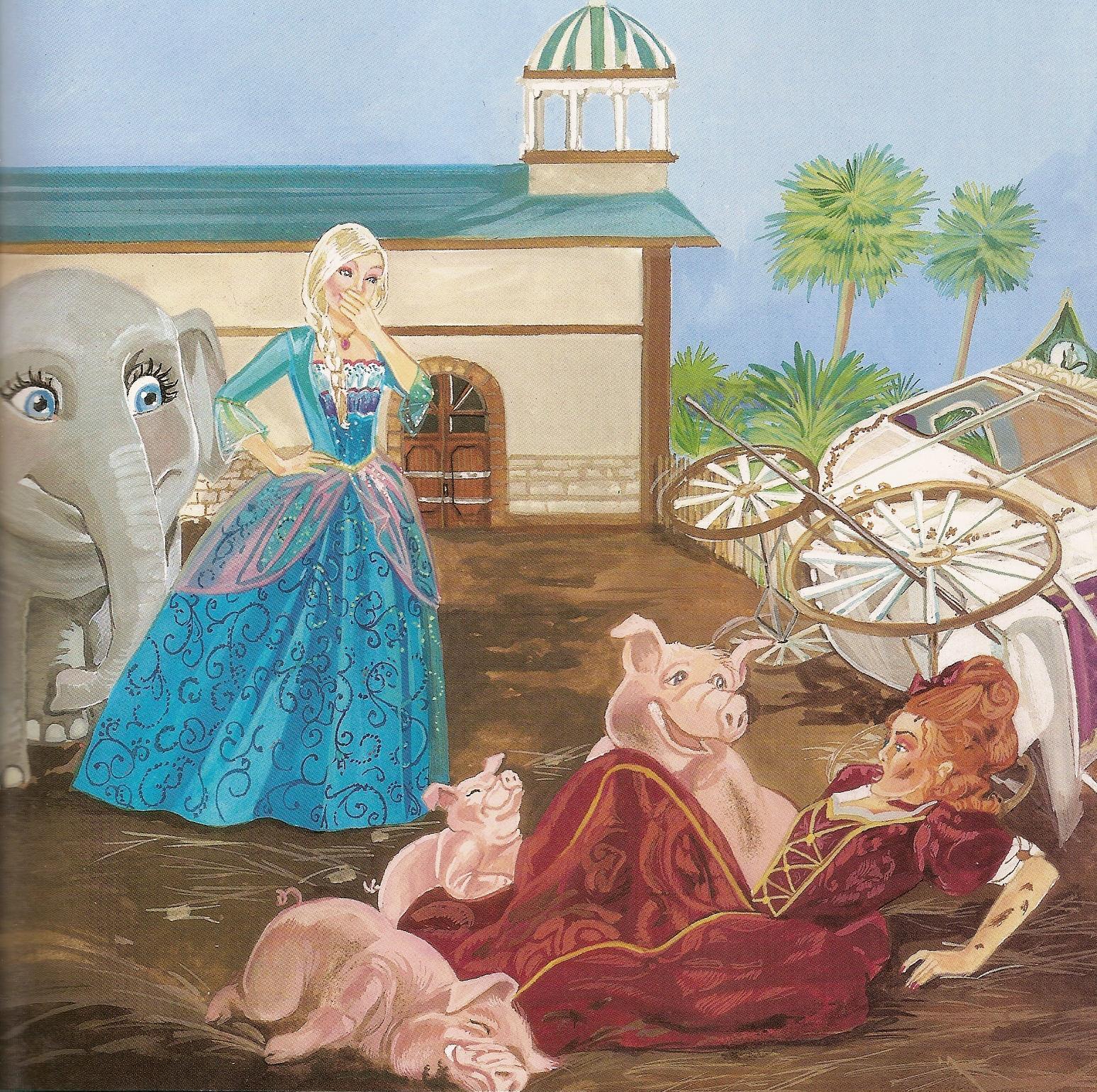 Island Princess - Barbie - editovat - - Ostrov - princezna foto