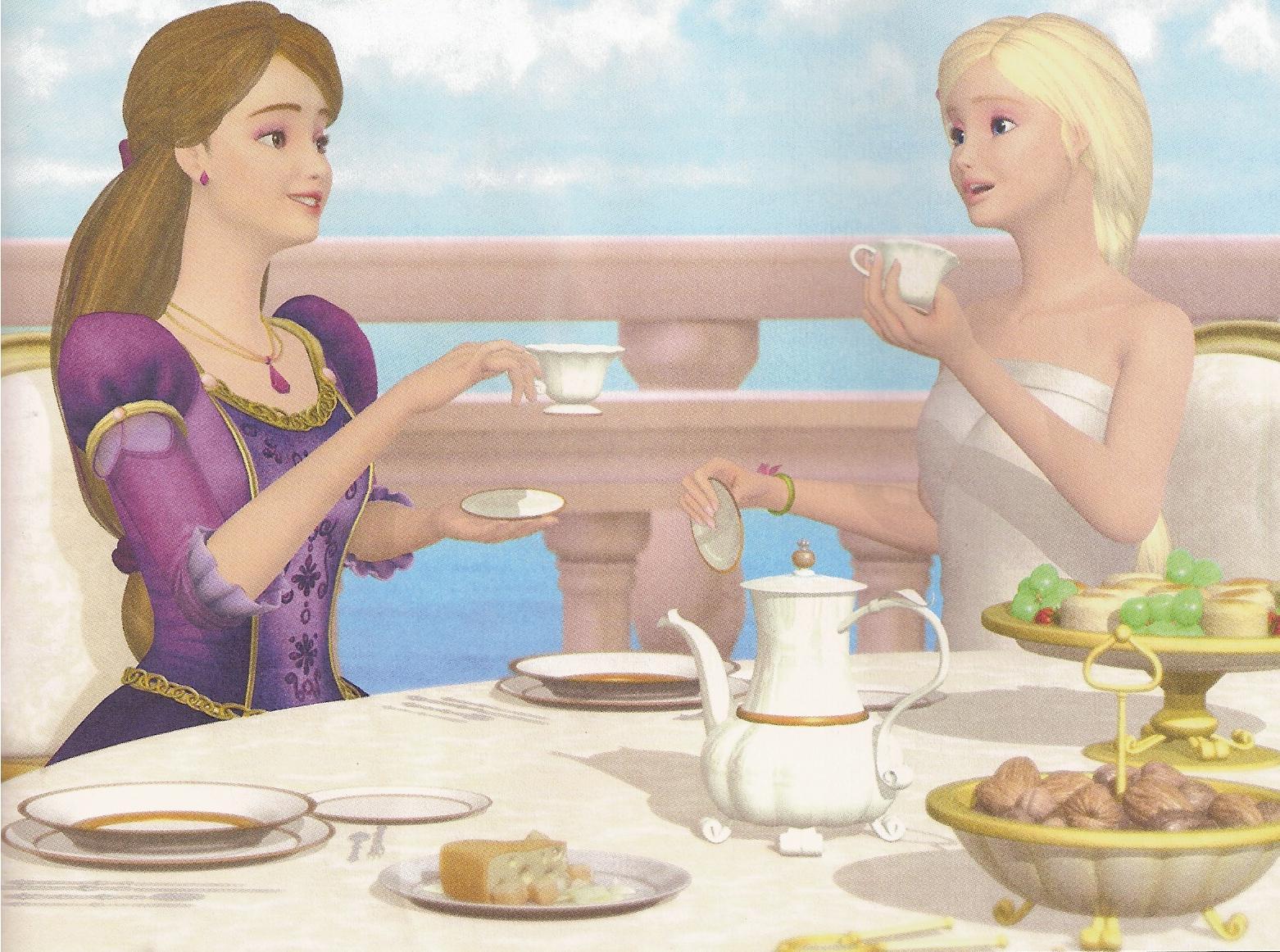 Barbie upravil Ostrovní princezna - Barbie - editovat - - Ostrov - princezna foto