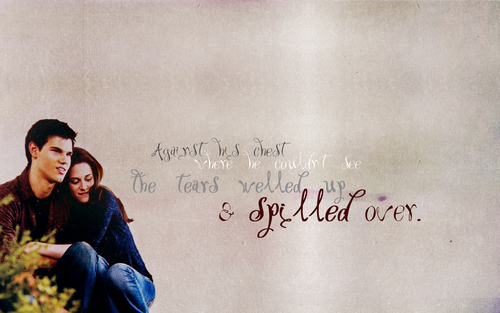 Jacob & Bella ' - bella-swan Wallpaper