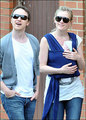 James &amp; Anne with SON! - james-mcavoy photo