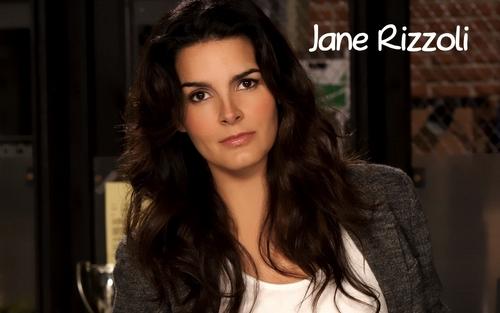 Jane Rizzoli fond d'écran