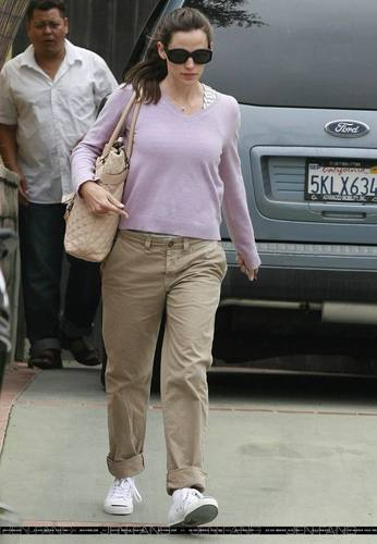 Jen out and about