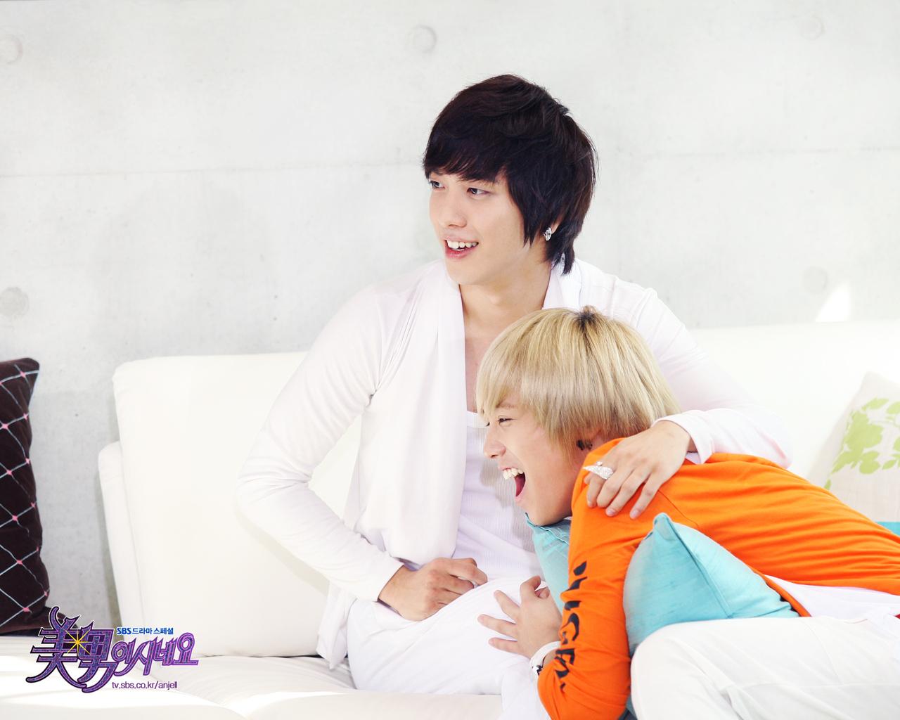 Jeremy and Shinwoo - You're Beautiful Wallpaper (13898778) - Fanpop
