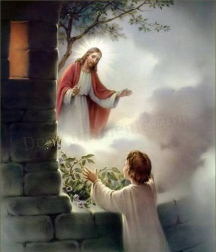 A Childs Prayer - jesus Photo