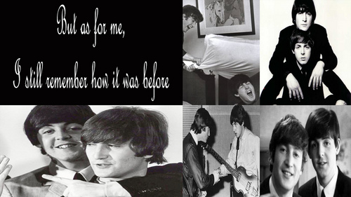 John & Paul wallpaper
