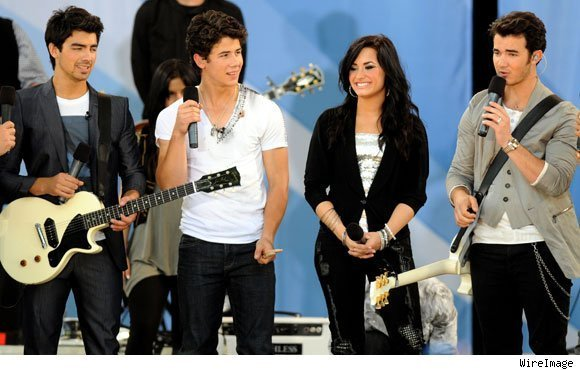 Jonas Brothers ans Demi Lovato