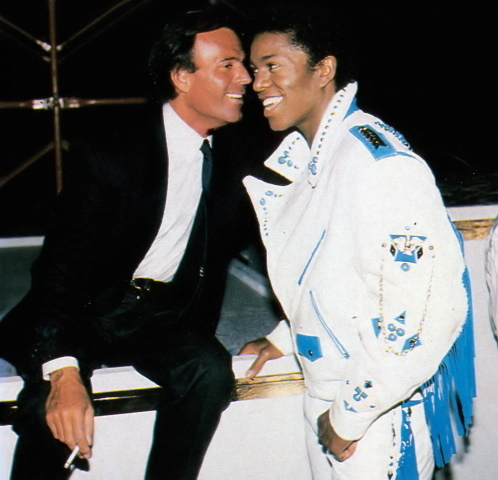Image result for julio iglesias and stevie wonder