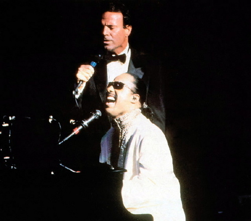 Julio & Stevie Wonder