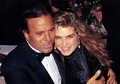 Julio and Brooke Shields