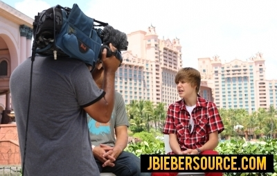 Justin Bieber atlantis photoshoots