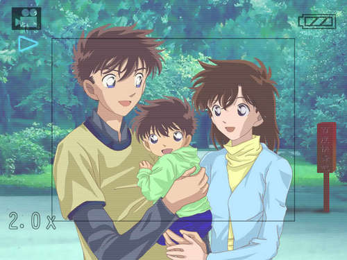 Kaito Aoko and thier child XD