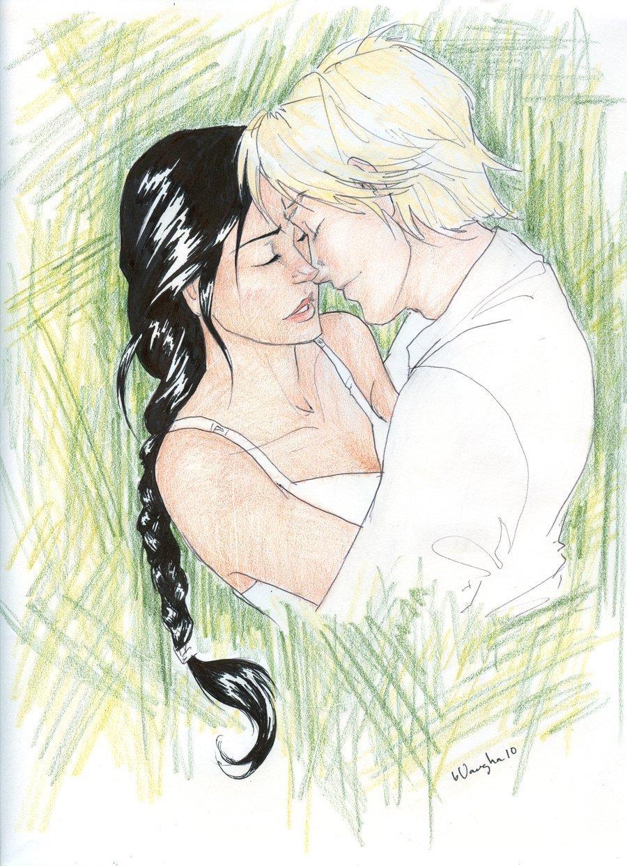 Hunger Games Fan Art Katniss And Peeta Games Katniss and Peeta