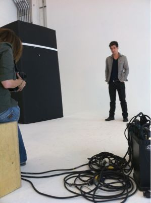 Kendall and Logan @ A photoshoot