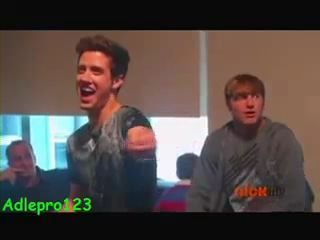 Kendall in 7 Secrets with BTR