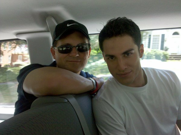 http://images2.fanpop.com/image/photos/13800000/Kevin-Williamson-Michael-Trevino-the-vampire-diaries-13829776-600-448.jpg