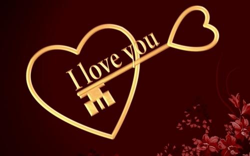 Key to my 心
