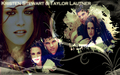 Kristen Stewart&Taylor Lautner - twilight-movie wallpaper