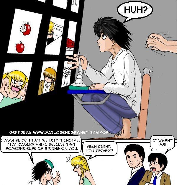 L cartoon