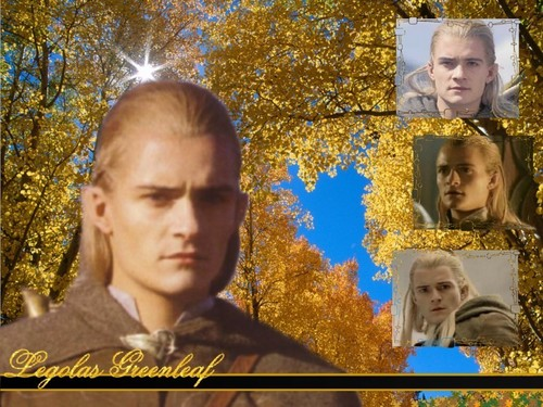 Legolas ~ Golden Autumn Forest