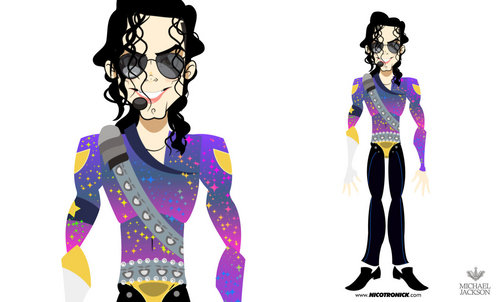 MJ caricaturas