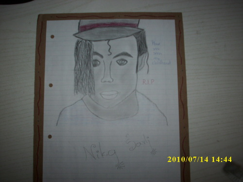 MJfangirl,my own MJ drawings